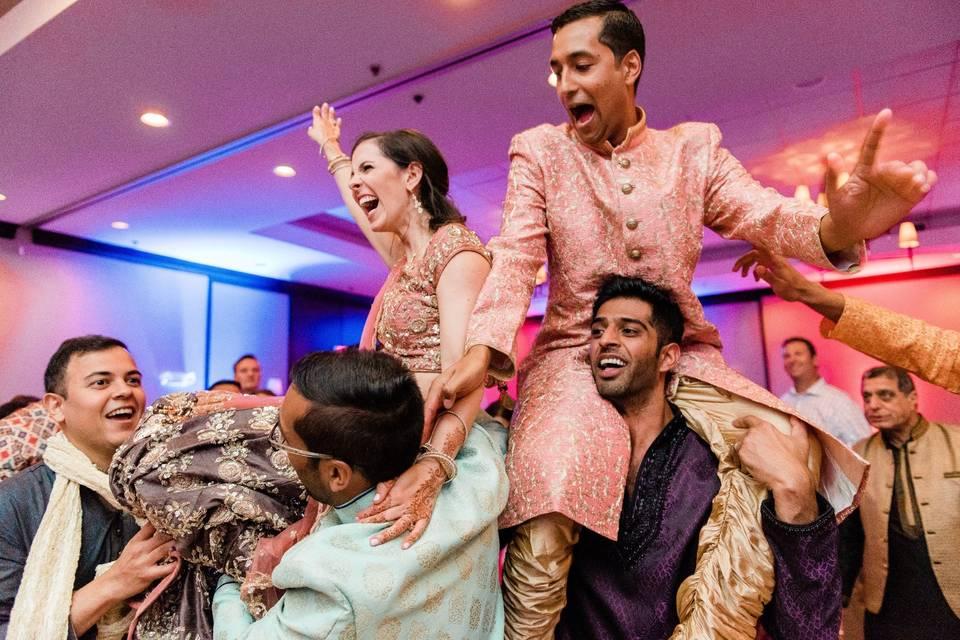 Sangeet wedding joy - Dustin & Corynn