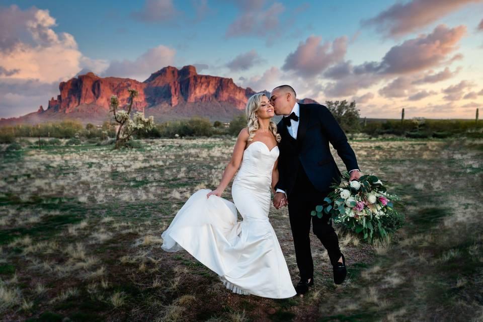 Wedding portraits Arizona - Dustin & Corynn