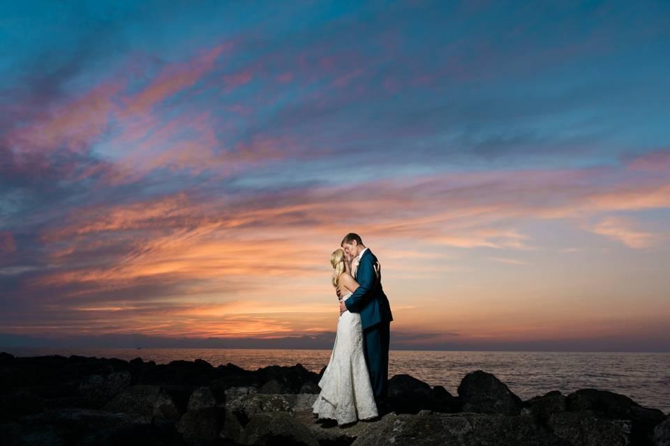 Ohio sunset love - Dustin & Corynn