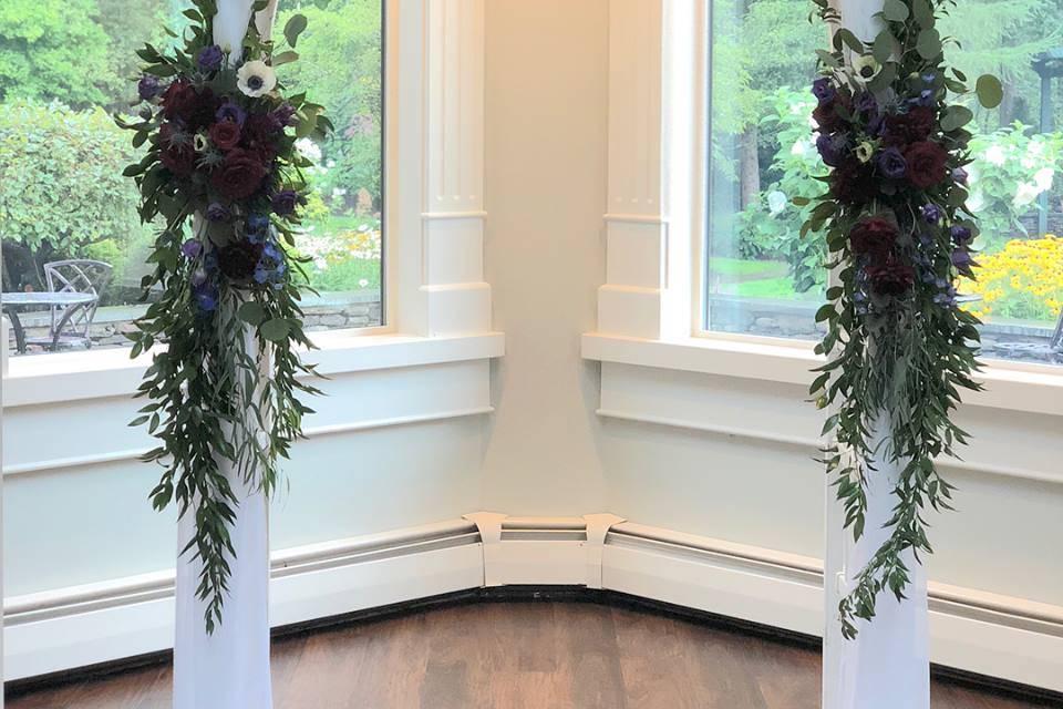 Elegant indoor arch