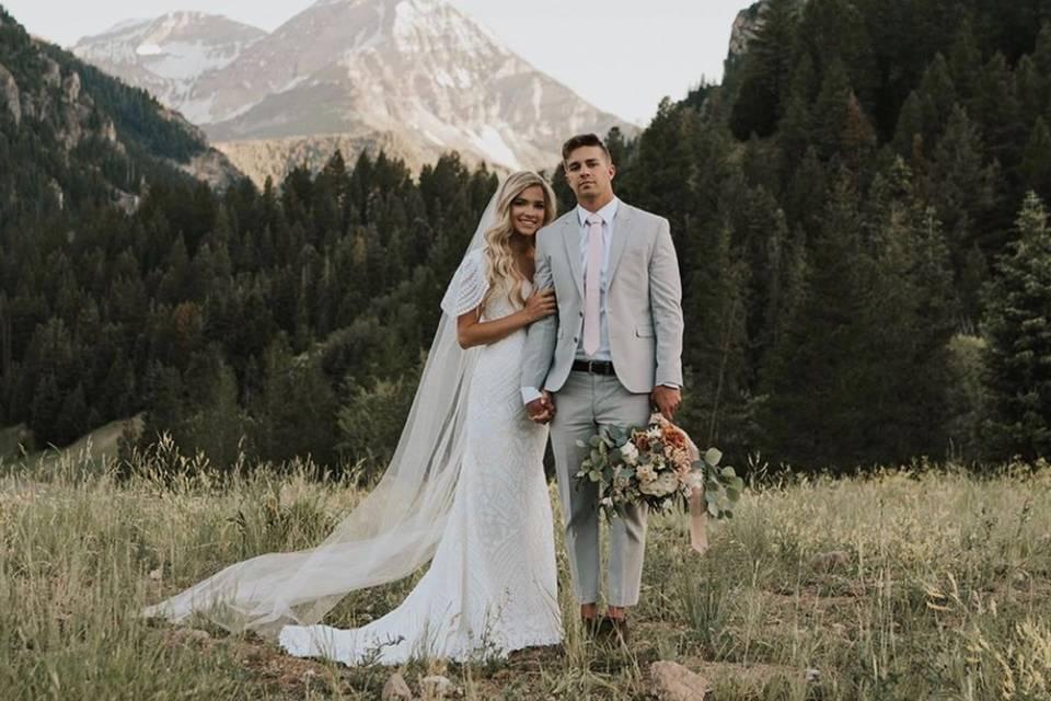 Photo of the happy couple