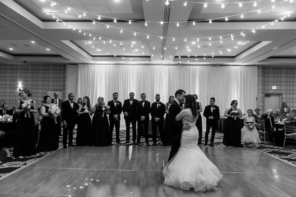 First Dance, Ballroom