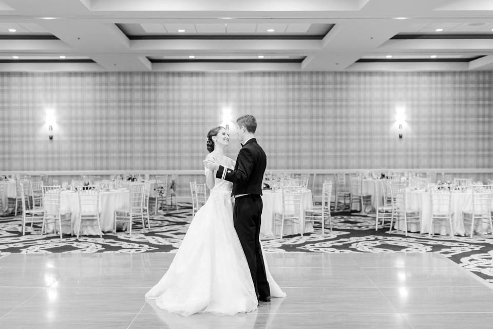 Quiet Moment in Ballroom