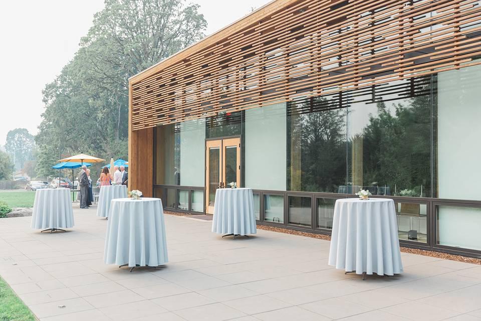 Great Hall Patio Reception