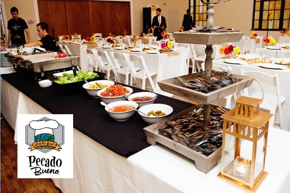 Pecado Bueno & It's All Good Catering