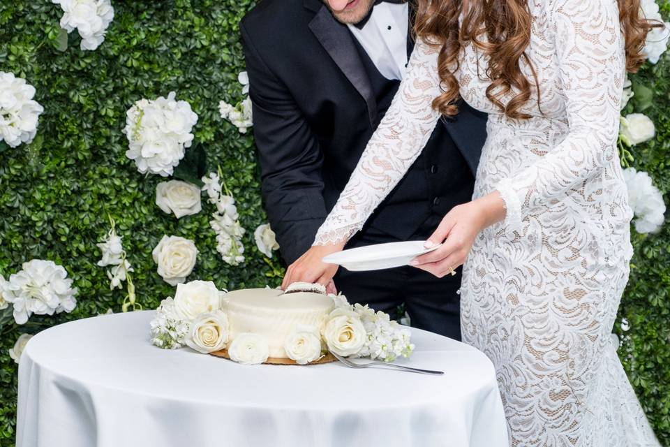 Cake cutting moments