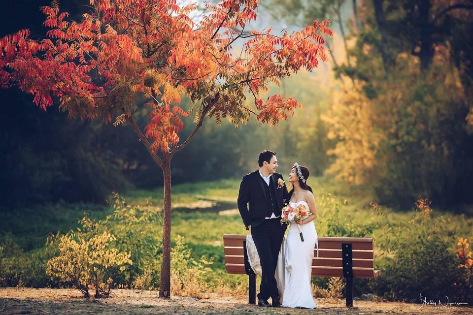 Fall Pre-Wedding