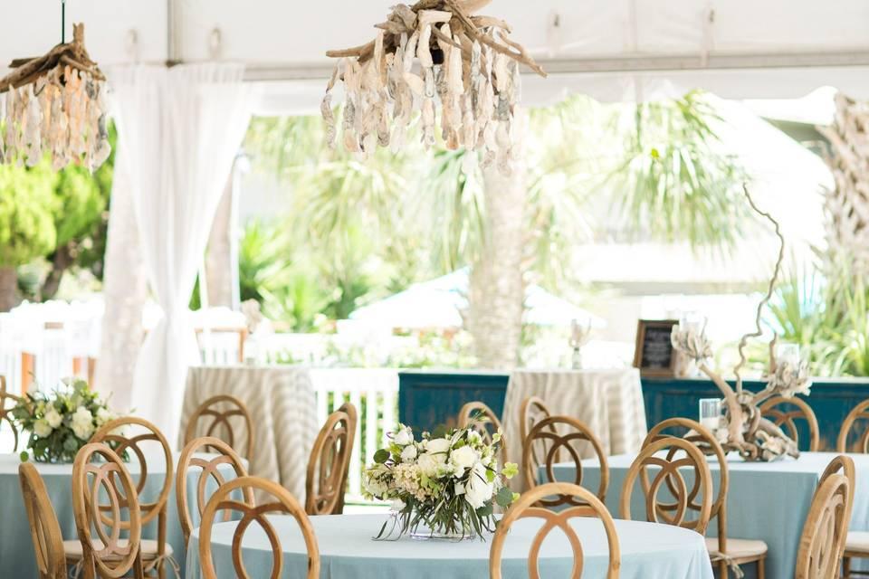 Pavilion Deck Reception