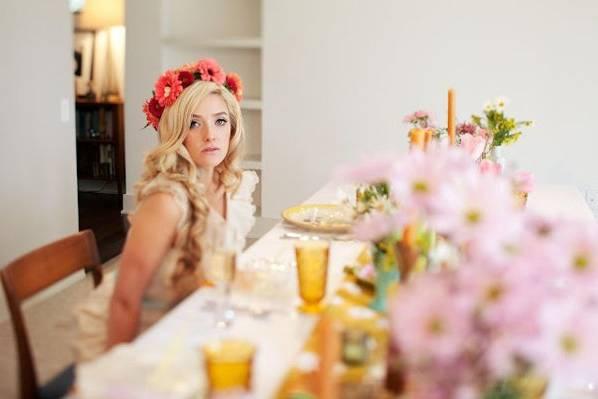 Mod styled wedding - Paige Newton Photography