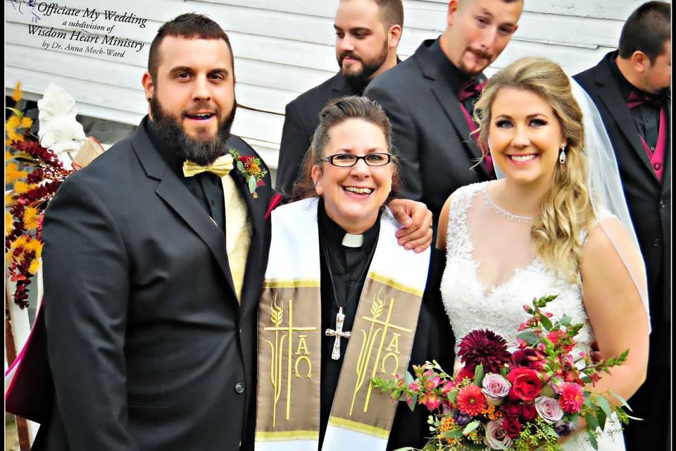 Officiate My Wedding by Dr. Anna Mock-Ward