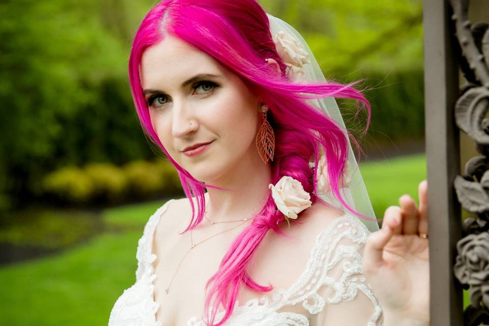 Beaming bride - Azzolina Photography