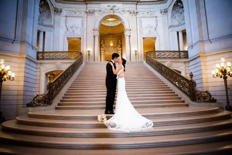 City Hall Wedding Images