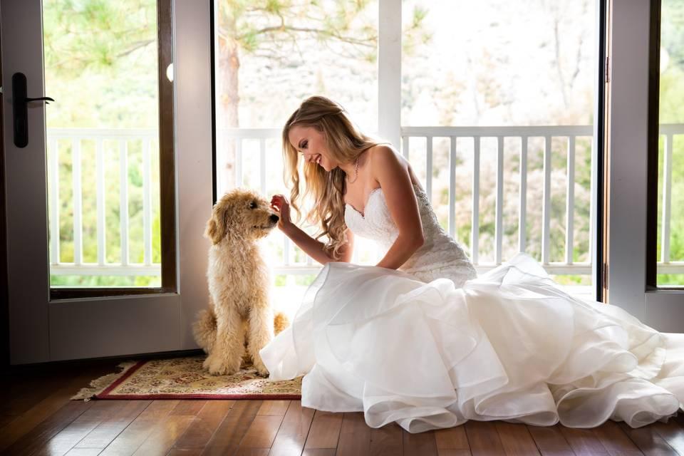 A brides best friend