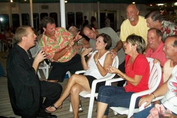SInging on cruise ship