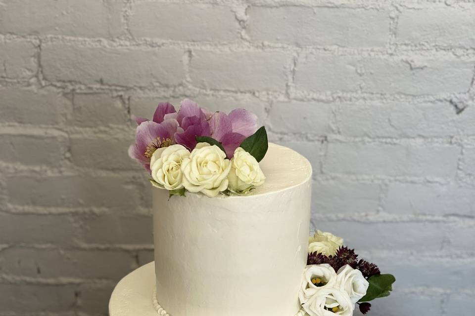 Simple two tiered