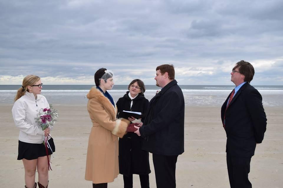 Wedding Ceremony in Maine
