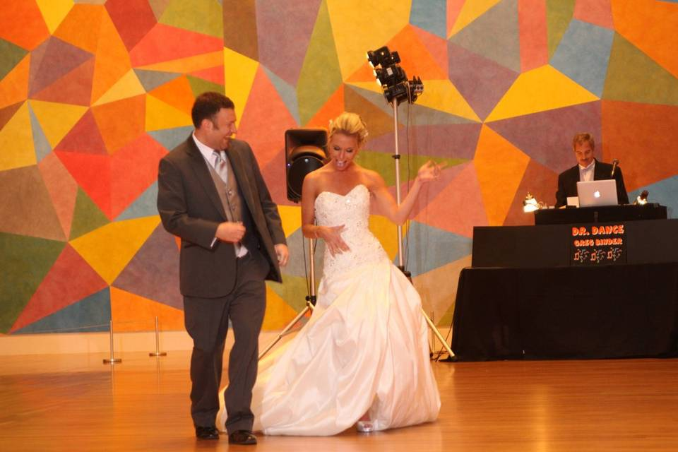 Introduction of Bride and Groom by Dr Dance - Indianapolis Dj