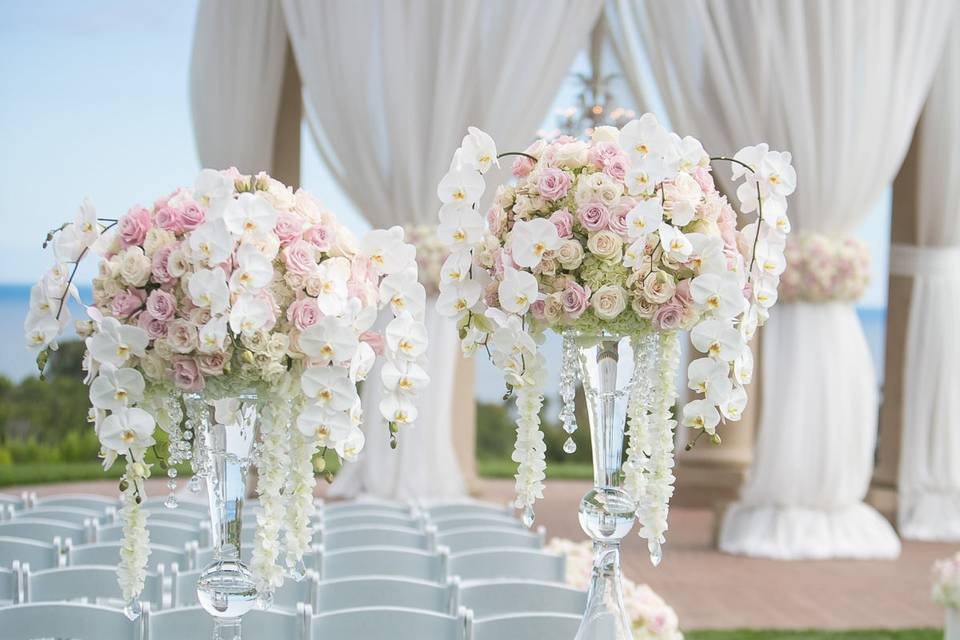 Sample floral arrangements