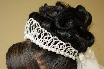 Bridal Hair and Make up raleigh NC hair, makeup: PamPerry