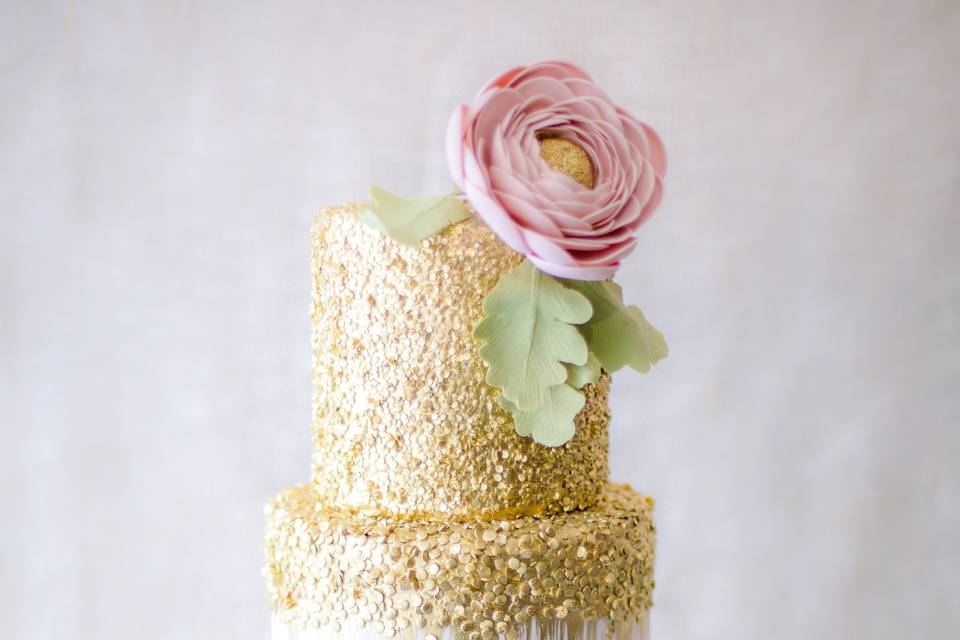 Pink cake | Ericson-wolfe photography