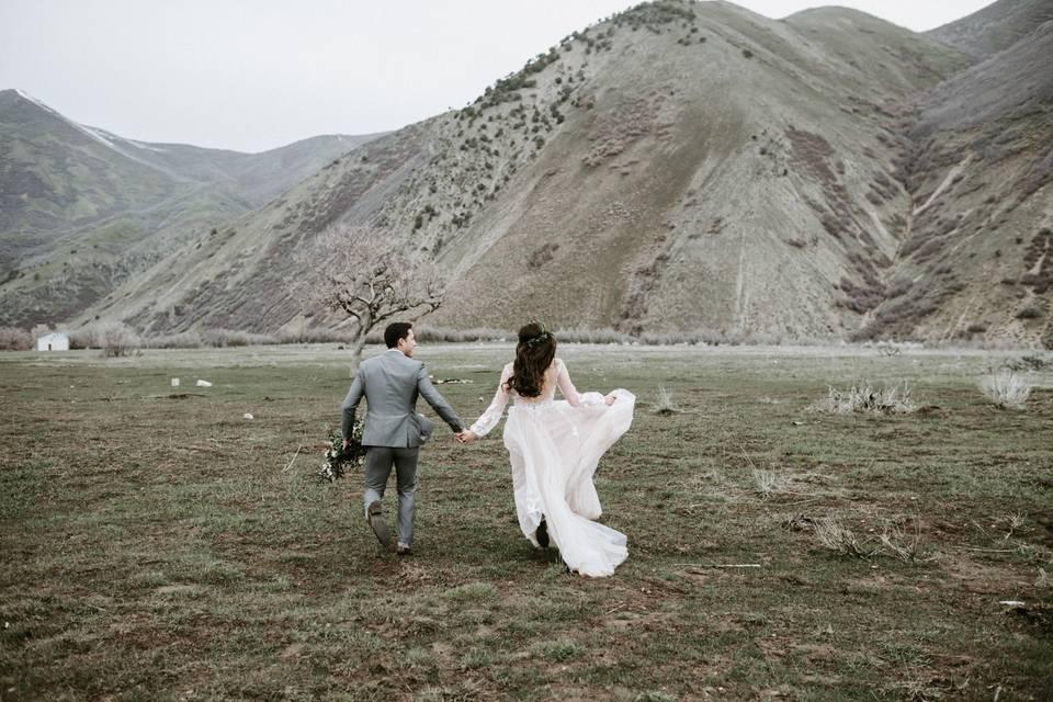 Utah mountain elopement