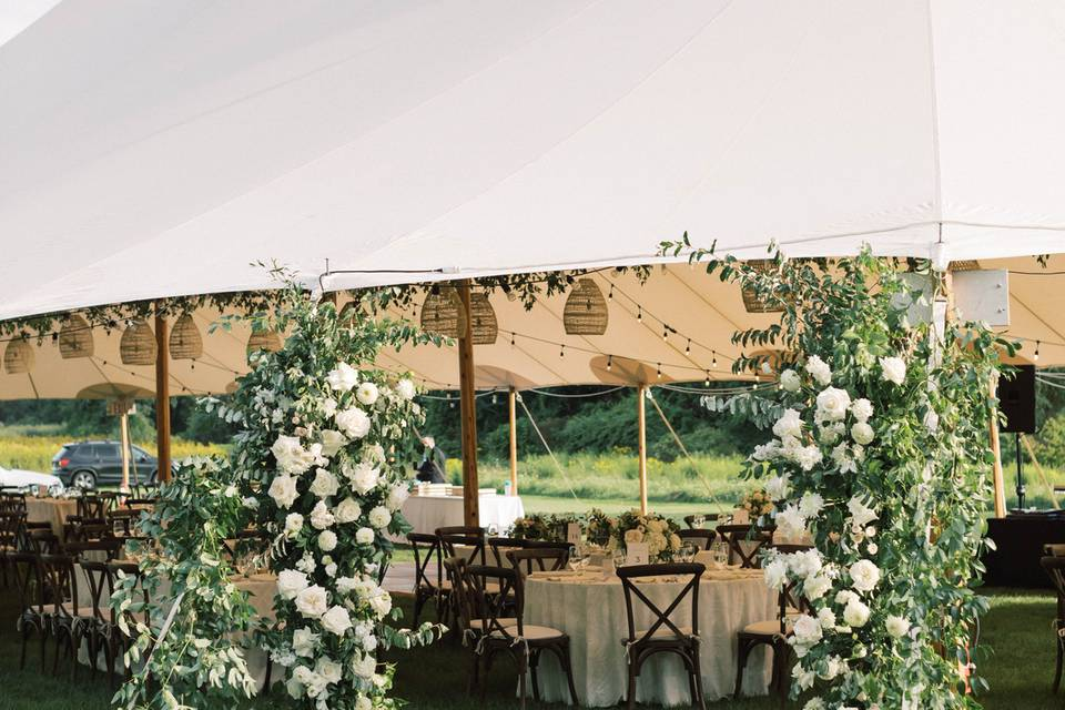 Tented receptions