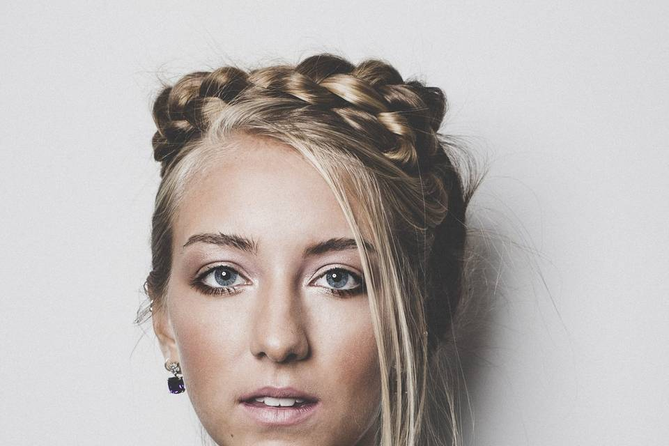Bride front profile