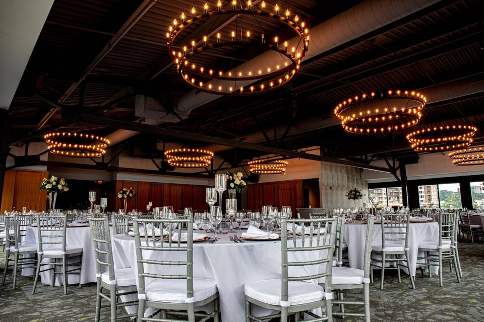 Beautiful banquet space
