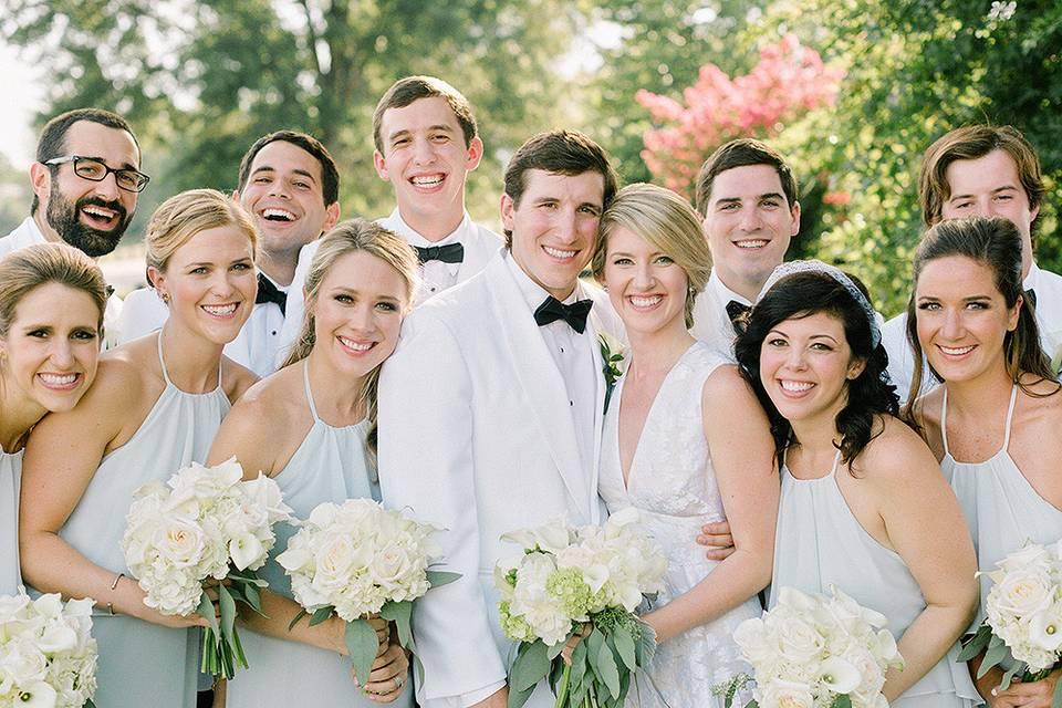 Wedding party | Amy Arrington Photography