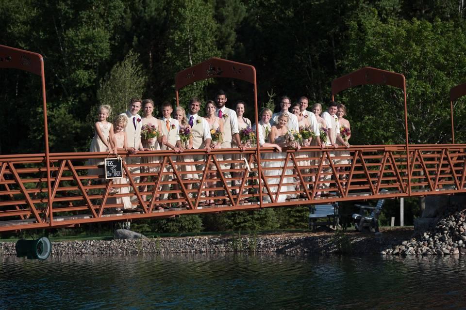 Bridge shot