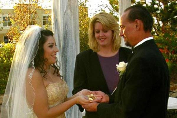 Carrie MaKenna, Ordained Officiant