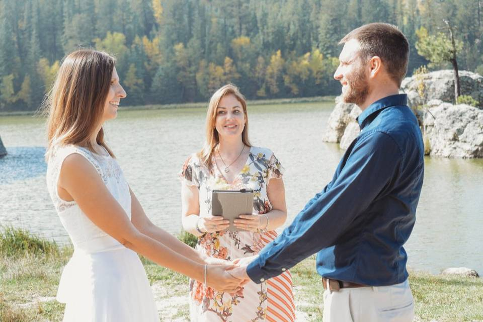 The Ginger Officiant