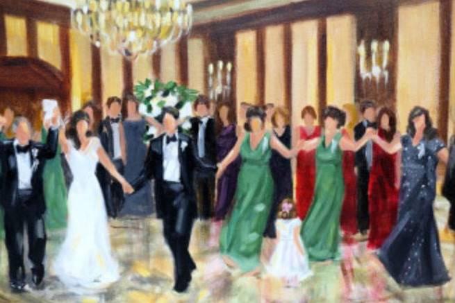 Julia McNally Fine Art & Live Event Painting