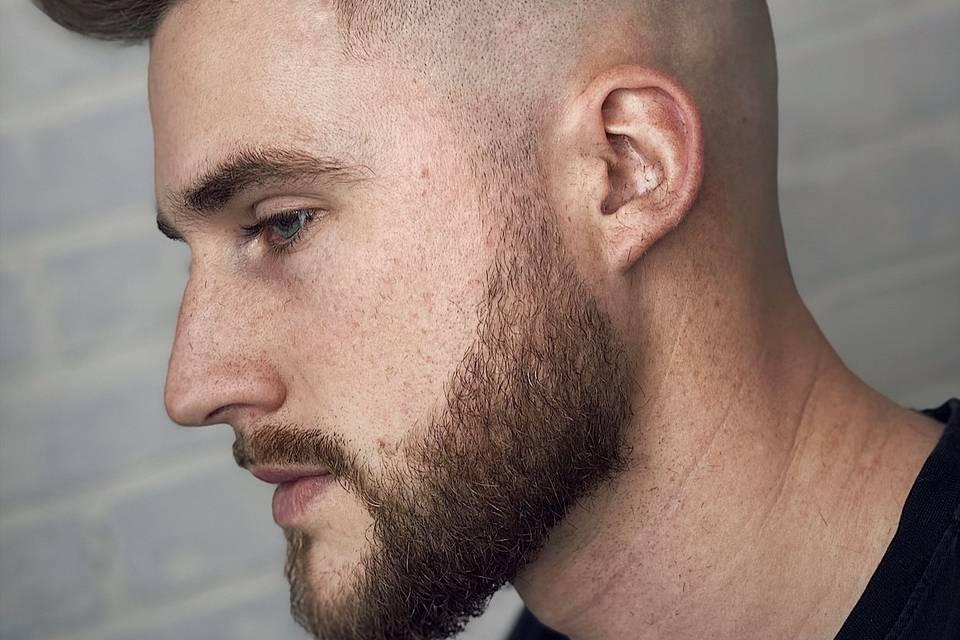 Blad fade and beard