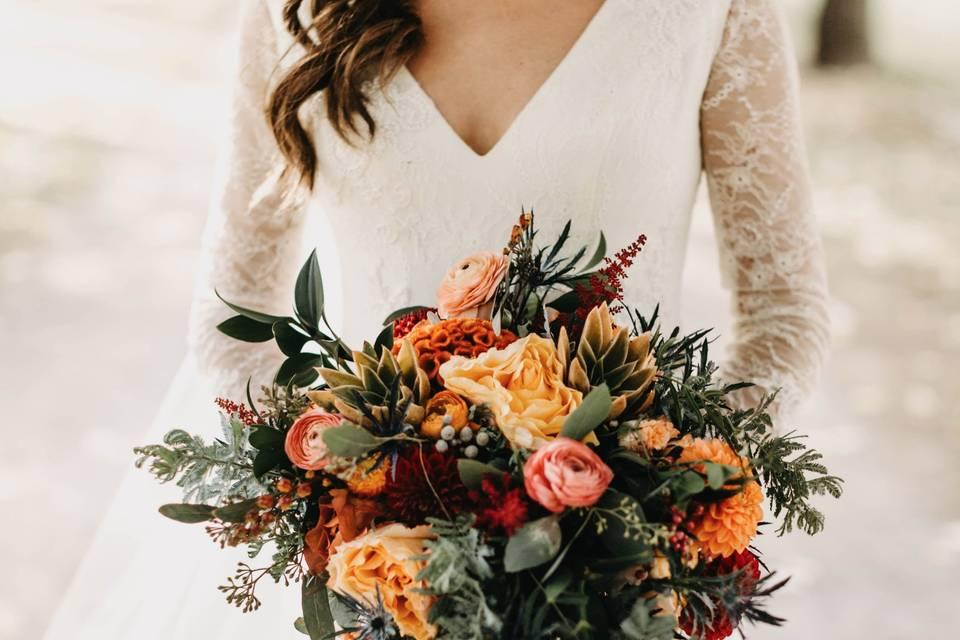 Bridget's Fall Wedding