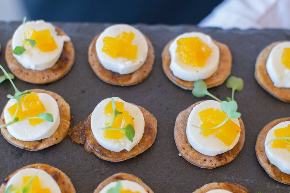 The Bohlin appetizers