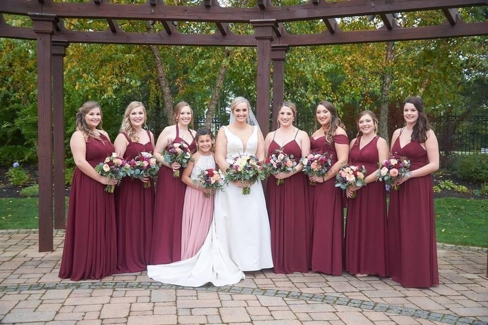Molly: Bridesmaids' Styles