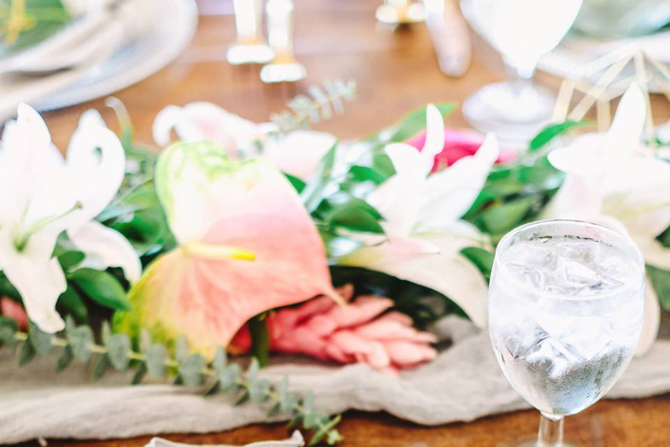 Coral Reef Place Setting