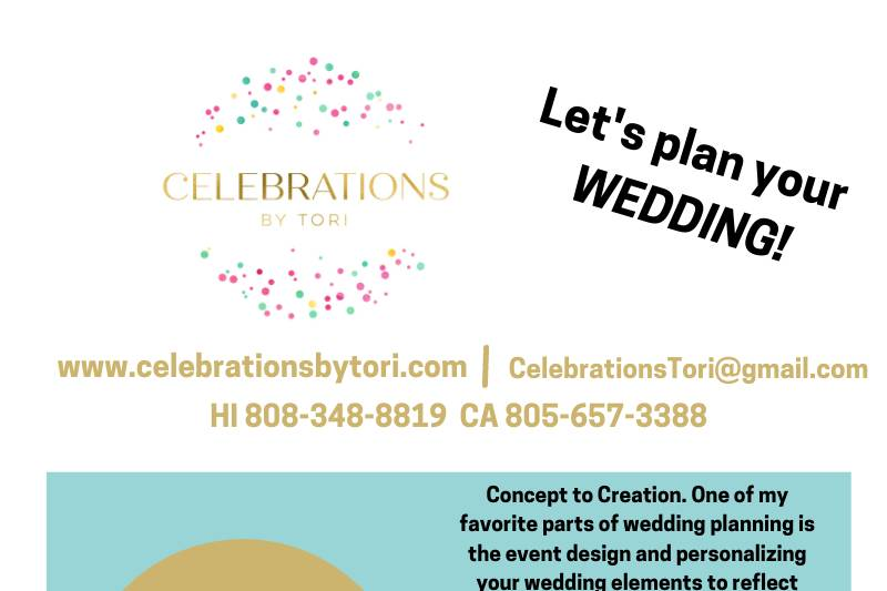 Let's Plan Your Wedding!