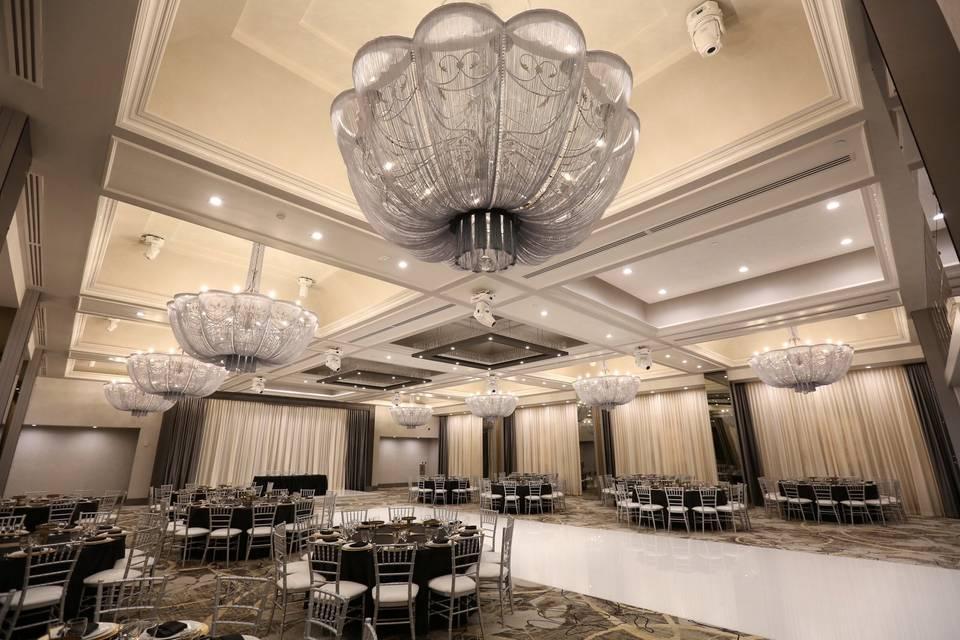 Opulent ballroom