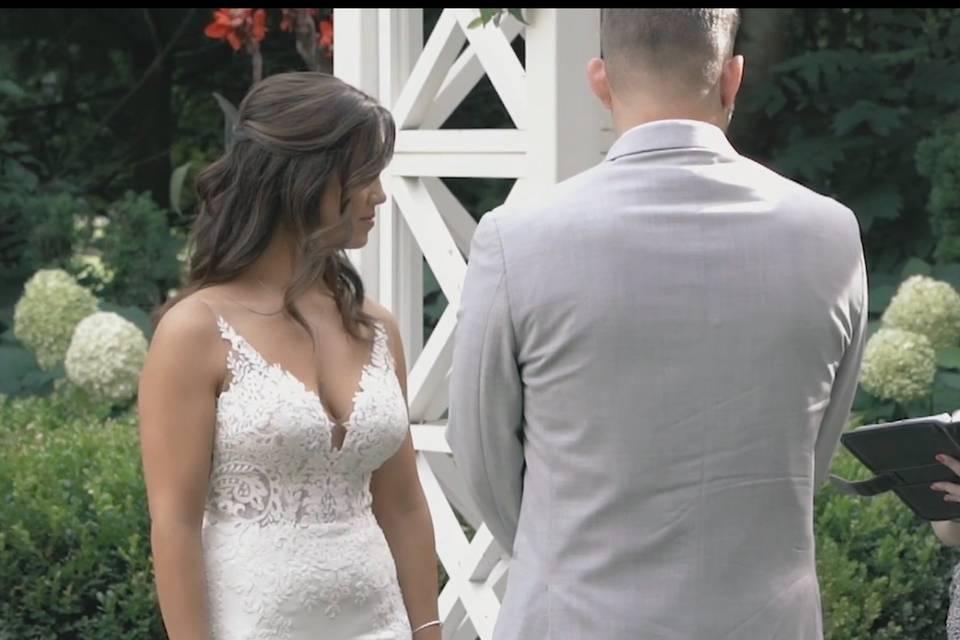 Happy Couple- Leslie and Evan