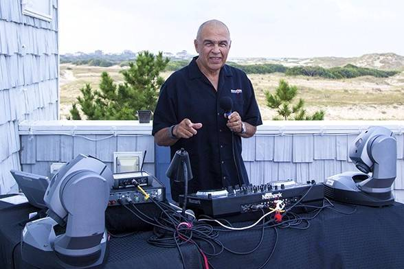 DJ Don, Soundwavz, wedding in Corova, NC.