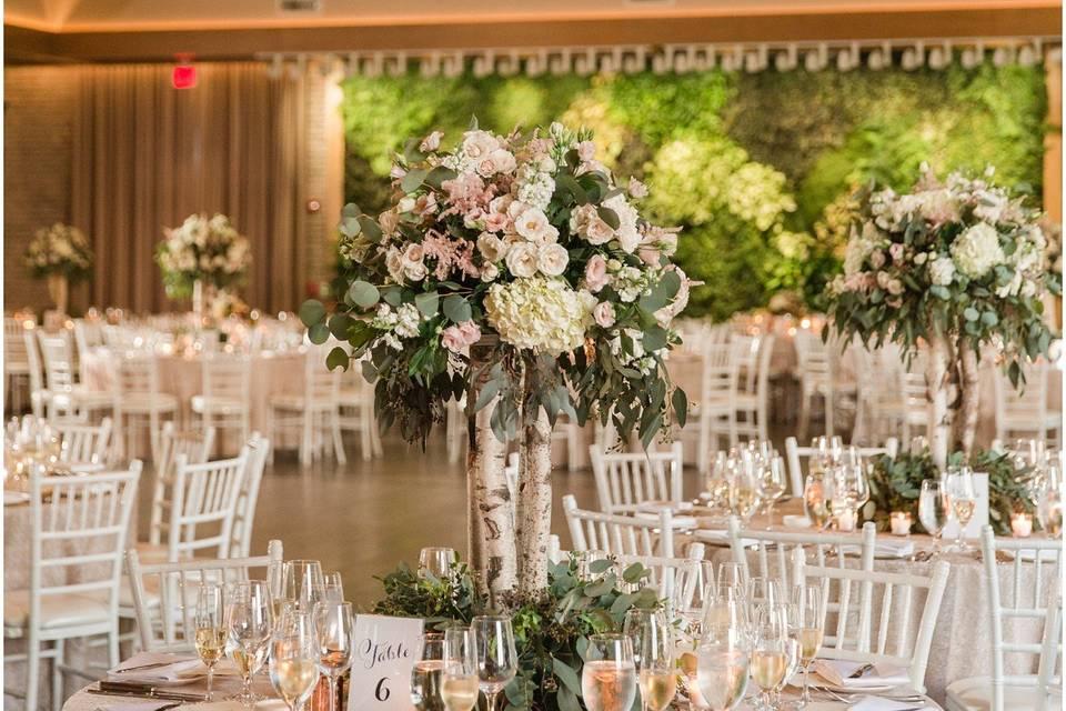 Centerpiece: Natirar Wedding