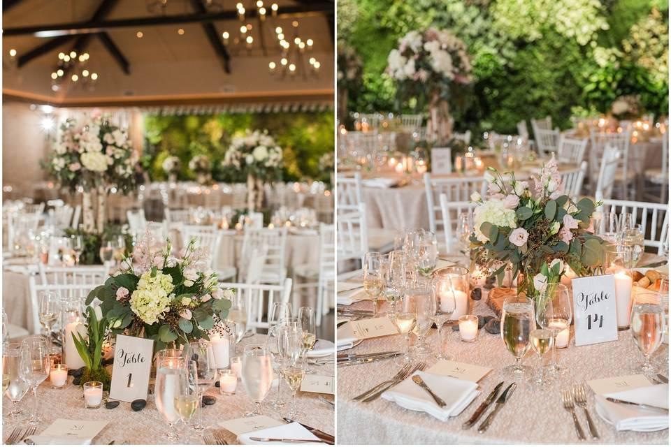 Reception: Natirar Wedding