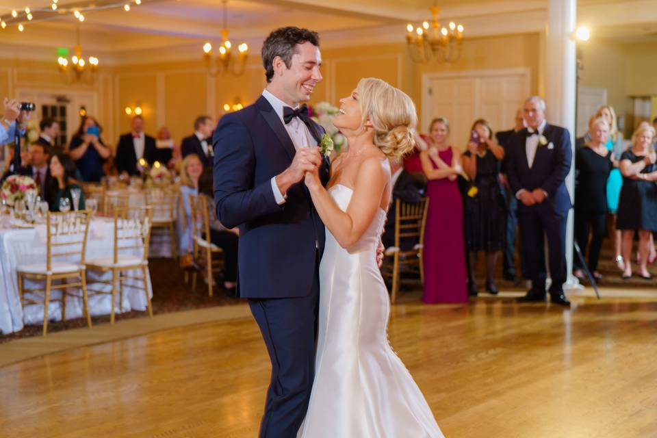 St. Augustine wedding reception