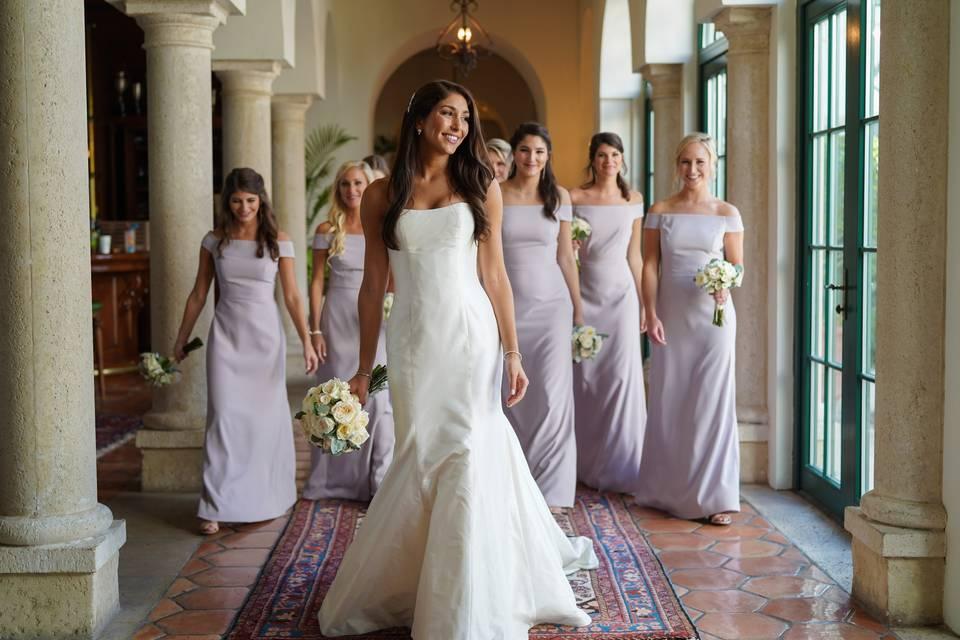 Sea Island wedding