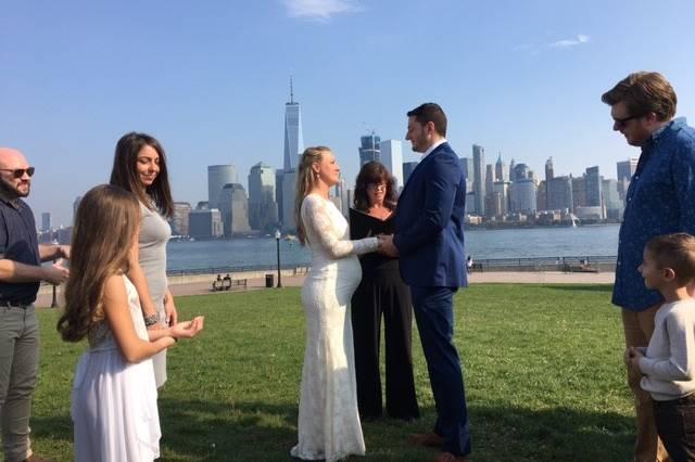Wedding under the sun