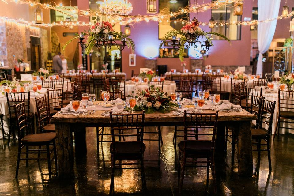 Table setup | By Fabio Lopez Photography