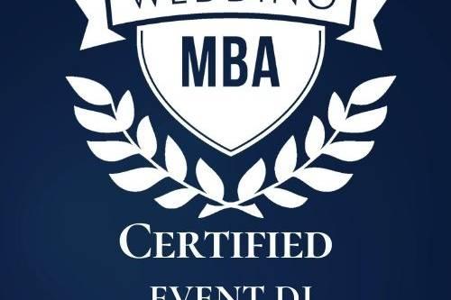 Wedding MBA Certified 2021