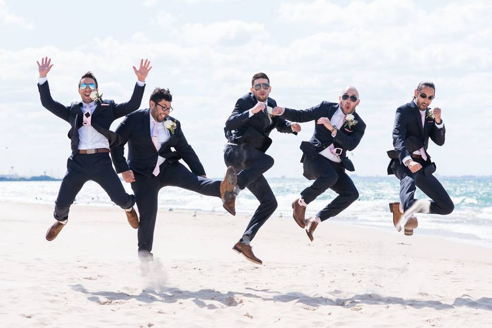 Jumping for joy - VisualEtiquette